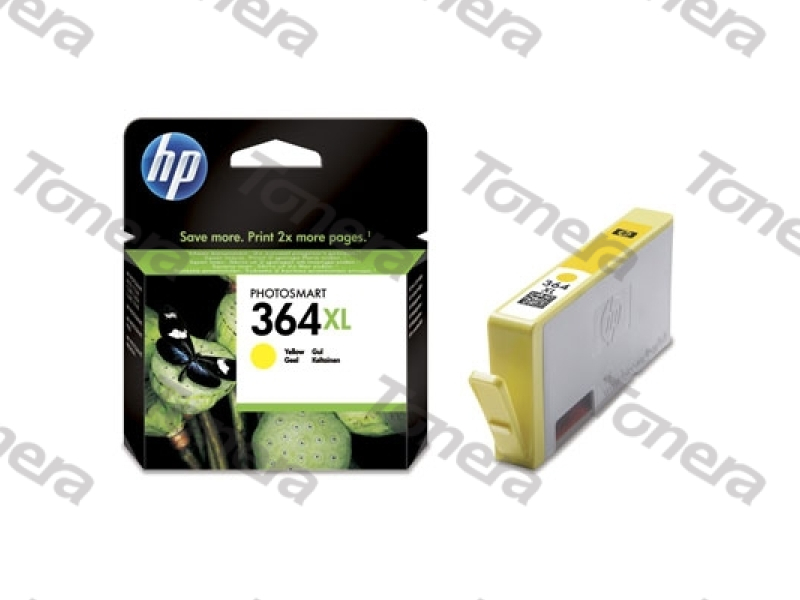 HP CB325E, typ 364XL Yellow  originální cartridge 6ml,750s