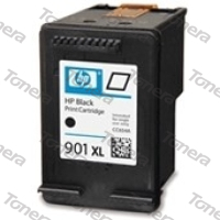 HP CC654, typ 901XL Black  renovace cartridge 20ml ,