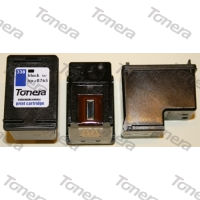 HP C8765e, typ 338 Black  renovace cartridge 17ml (orig.=11ml),