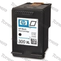 HP CC641, typ 300XL Black  renovace cartridge 19ml (orig.=12ml),