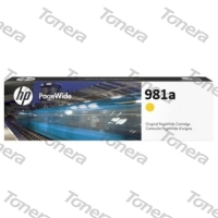 HP J3M70A, typ 981A Yellow originální cartridge 68,5ml,6000s