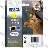Epson T1304 Yellow originální cartridge 10,1ml,765s