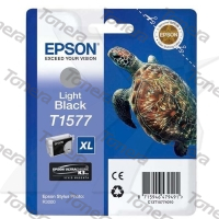 Epson T1577 Light Black originální cartridge 25,9ml,