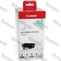 Canon PGI9 Photo Black, Cyan, Magenta, Yellow, Grey originální cartridge 5 x 14ml,