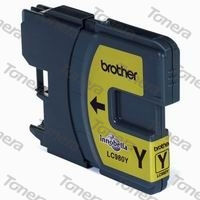 Brother LC980 Yellow originální cartridge ,260s