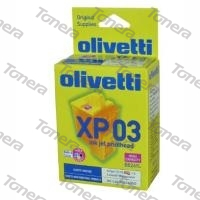 Olivetti XP03(B0261L) set Black+C+M+Y originální cartridge ,