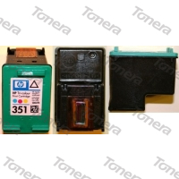 HP CB337, typ 351 Color  renovace cartridge 8,5ml (orig.=3,5ml),