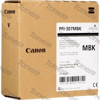 Canon PFI-307MB, 9810B001 Matte Black originální cartridge 330ml,