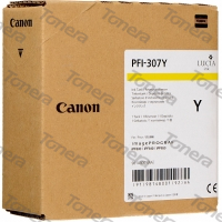 Canon PFI-307Y, 9814B001 Yellow originální cartridge 330ml,