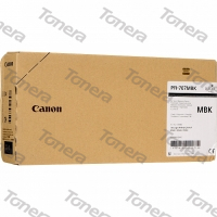 Canon PFI-707MB, 9820B001 Matte Black originální cartridge 700ml,