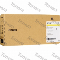 Canon PFI-707Y, 9824B001 Yellow originální cartridge 700ml,