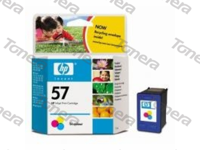 HP C6657A, typ 57 Color originální cartridge 17ml,500s