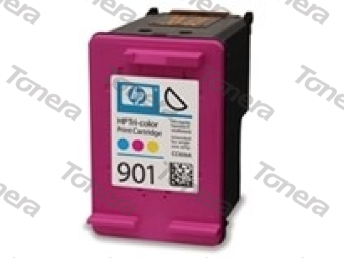 HP CC656, typ 901 Color  renovace cartridge 21ml,