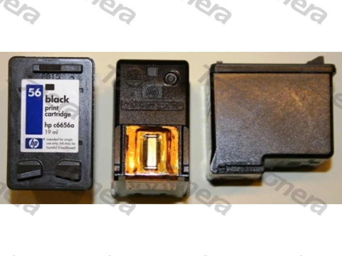 HP C6656a, typ 56 Black  renovace cartridge 23ml (orig.=19ml),