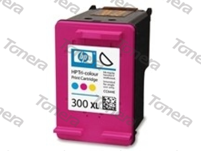 HP CC644, typ 300XL Color  renovace cartridge 21ml (orig.=11ml),