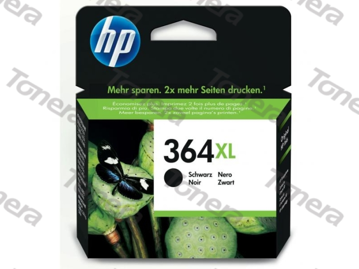 HP CN684E, typ 364XL Black  originální cartridge 18ml,550s