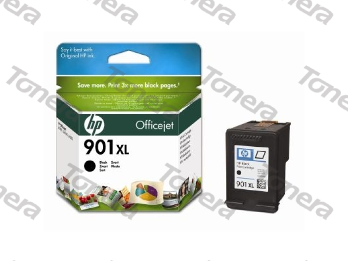 HP CC654A, typ 901XL Black originální cartridge 14ml,700s