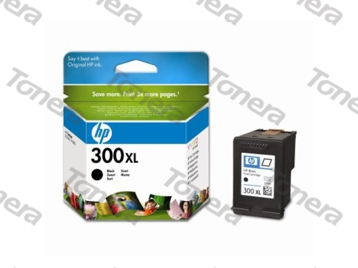 HP CC641E, typ 300XL Black originální cartridge 12ml,600s
