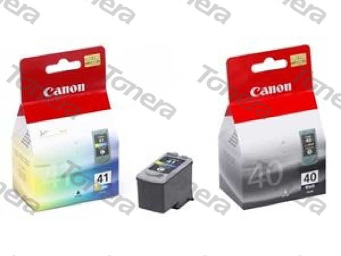 Canon PG40+CL41 Black+Color originální cartridge 17ml+3x4ml,490s+312s