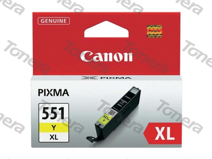 Canon CLI551XL, 6446B001 Yellow originální cartridge 11ml,700s