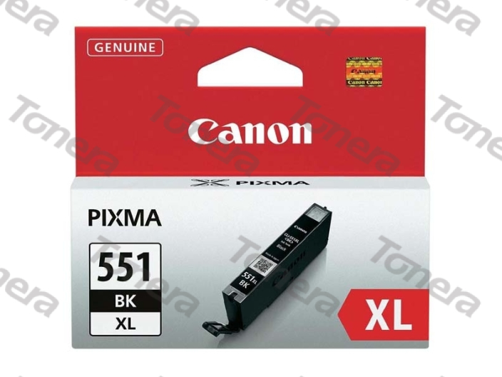 Canon CLI551XL, 6443B001 Black  originální cartridge 11ml,5000s