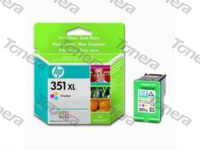 HP CB338E, typ 351XL Color originální cartridge 14ml,580s