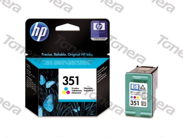 HP CB337E, typ 351 Color originální cartridge 3,5ml,170s