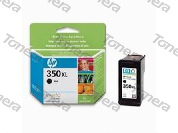 HP CB336E, typ 350XL Black originální cartridge 25ml,1000s