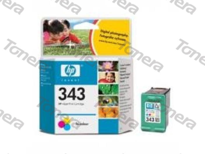 HP C8766E, typ 343 Color originální cartridge 7ml,330s
