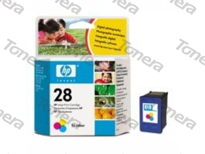 HP C8728A, typ 28 Color originální cartridge 8ml,240s