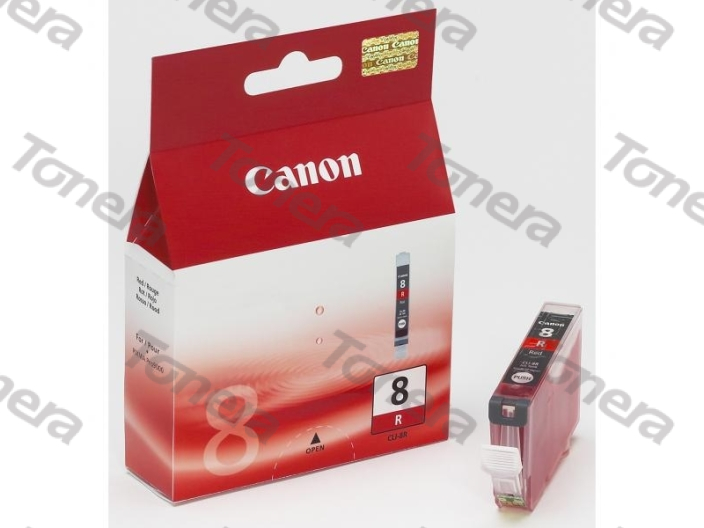 Canon CLI8 Red originální cartridge 13ml,