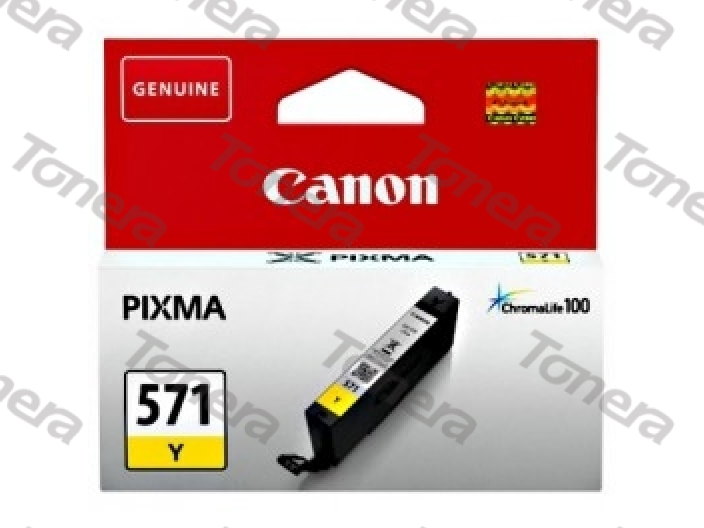 Canon CLI571 Yellow originální cartridge 7ml,347s
