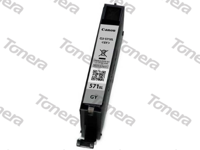 Canon CLI571XL, 0335C001 Grey originální cartridge 11ml,