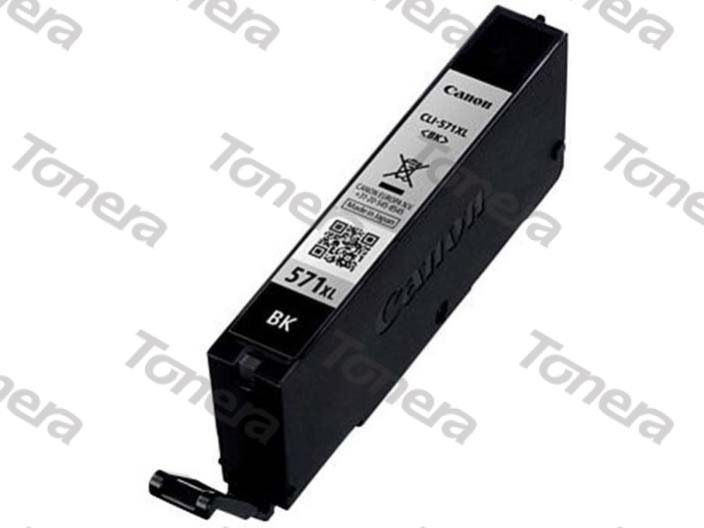 Canon CLI571XL, 0331C001 Black  originální cartridge 11ml,5565s