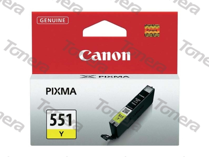Canon CLI551 Yellow originální cartridge 7ml,329s