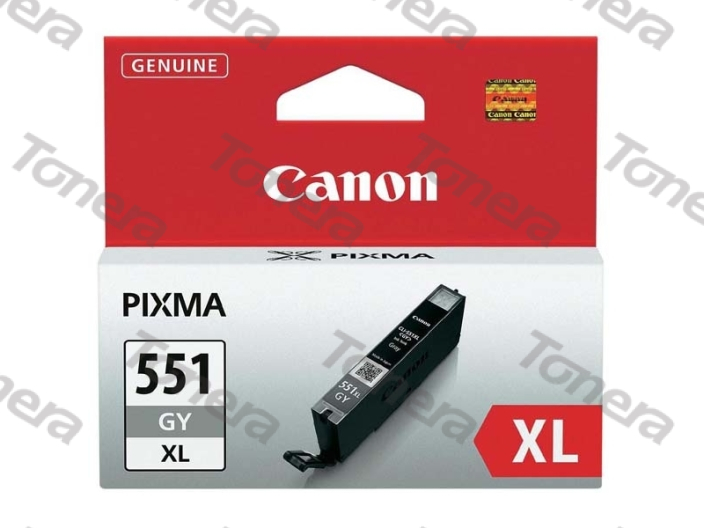 Canon CLI551XL, 6447B001 Grey originální cartridge 11ml,