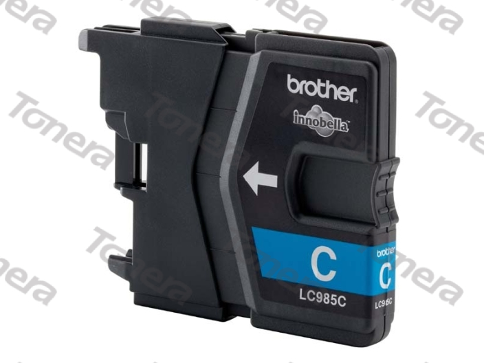 Brother LC985 Cyan originální cartridge ,260s