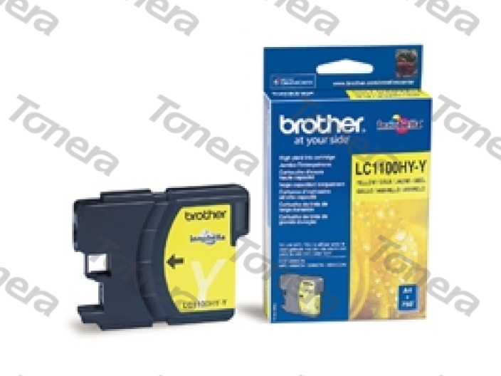 Brother LC1100HY Yellow originální cartridge ,750s