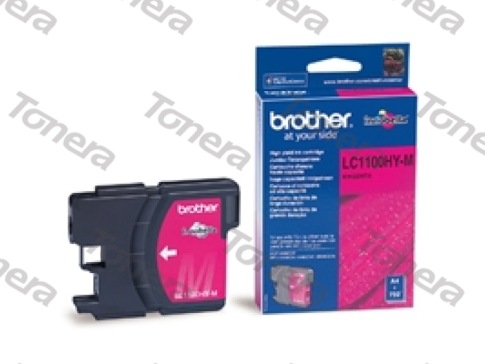 Brother LC1100HY Magenta originální cartridge ,750s