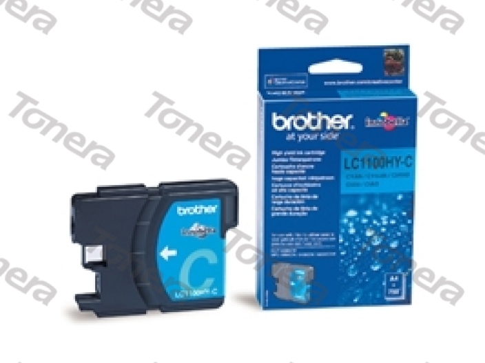 Brother LC1100HY Cyan originální cartridge ,750s