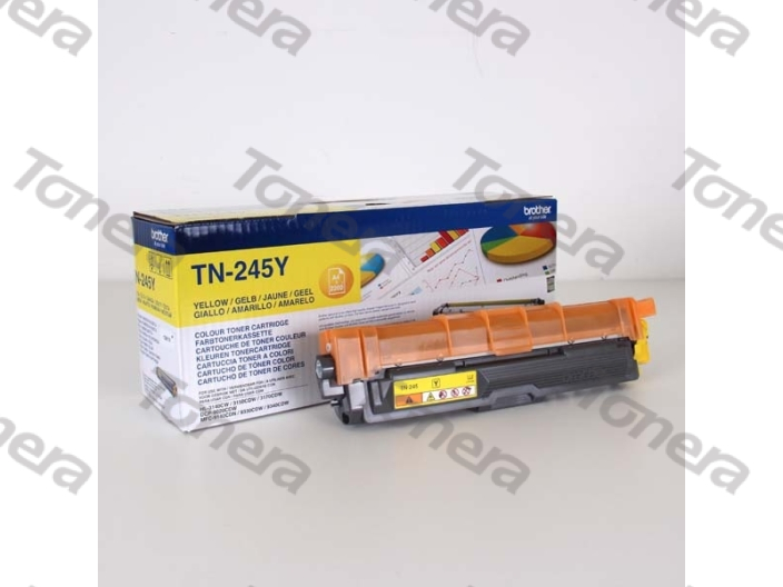 Brother TN245Y Yellow originální toner 2,2k