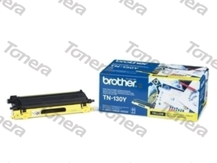 Brother TN130Y Yellow originální toner 1k5