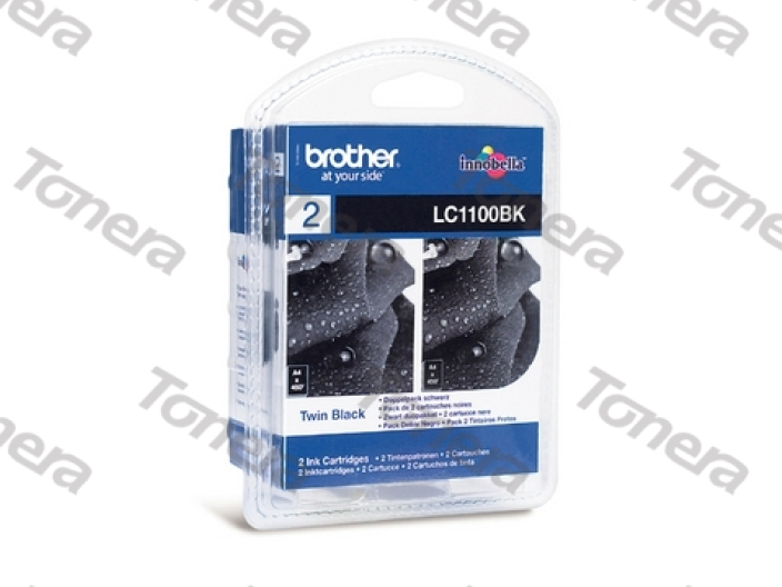Brother LC1100 2xBlack originální cartridge ,2x450s