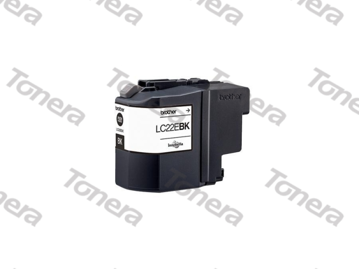 Brother LC22EBK Black originální cartridge ,2400s